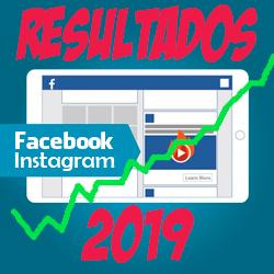 Resultados en facebook